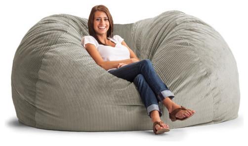 Fuf Extra Extra Large Bean Bag Sofa modern-sofas