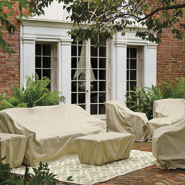 Hyde Park Outdoor Daybed Cover traditional-outdoor-furniture-covers