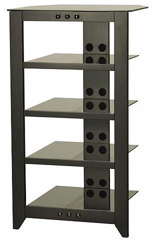 Natural AV Series Audio Rack - Modern - Display And Wall Shelves - by Wayfair
