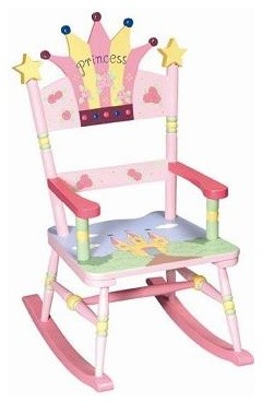 Princess Rocking Chair eclectic kids chairs