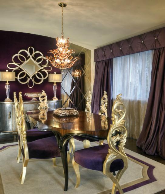 Atlanta Interior Design - contemporary - dining room - atlanta