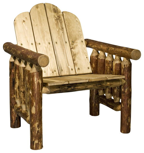 Montana Woodworks Deck Chair in Glacier Country rustic-patio-furniture-and-outdoor-furniture