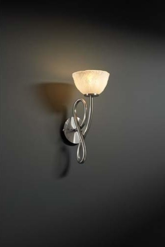 Capellini Brushed Nickel and Whitewash Single-Light Wall Sconce modern-wall-lighting