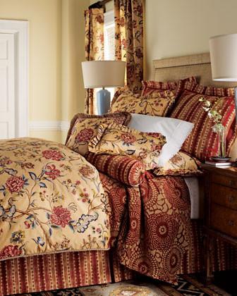 Jane Wilner Designs Olivia Bed Linens Queen Duvet Cover traditional-duvet-covers