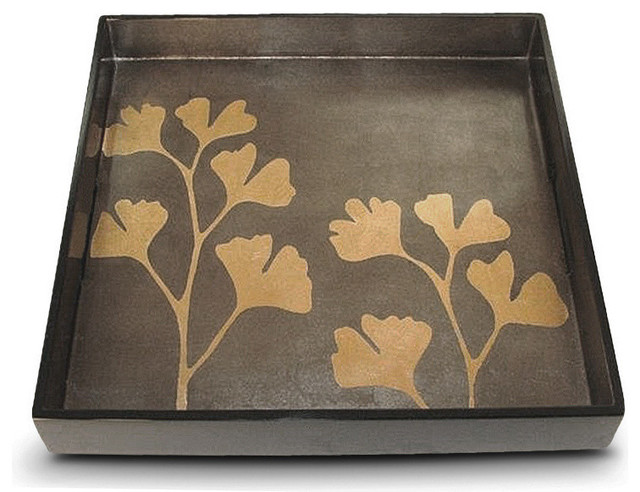 Ginko Square Tray contemporary-serving-dishes-and-platters