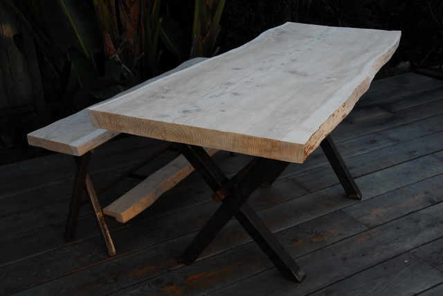 live edge furniture contemporary-dining-tables
