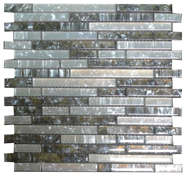 w04 grey twilight crystal white shell glass mosaic