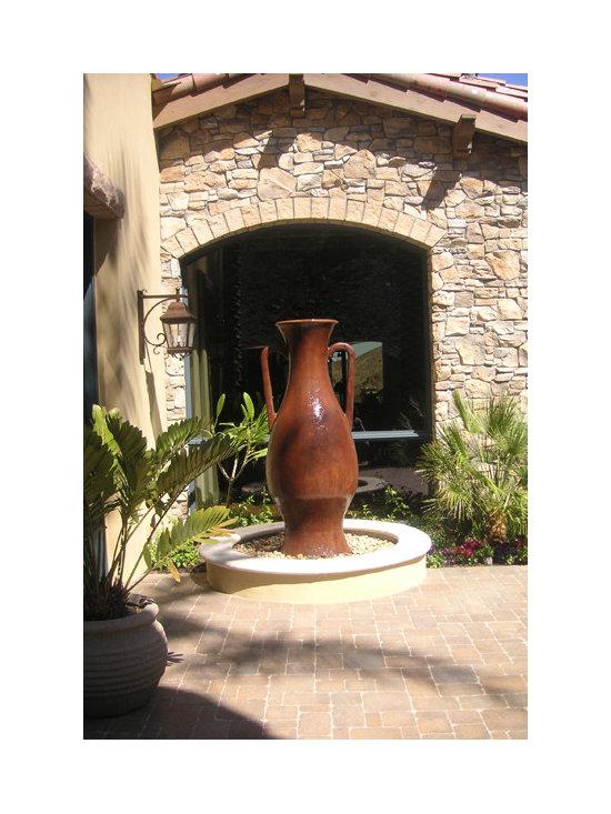 D- Jarrah fountain -