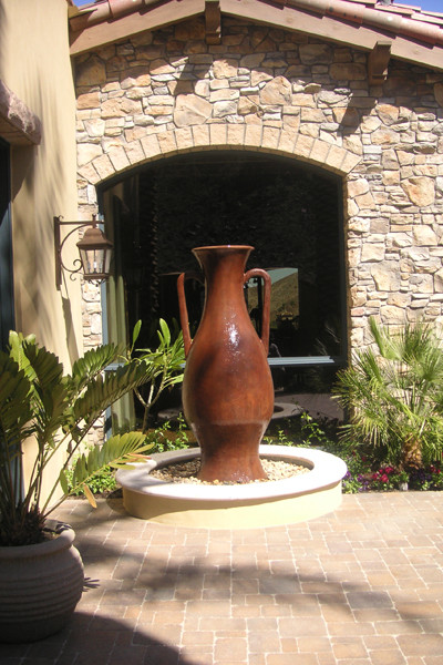 D- Jarrah fountain mediterranean outdoor products