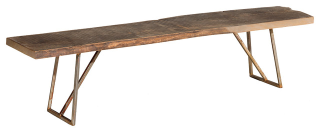 Point Dume Bench modern-dining-benches