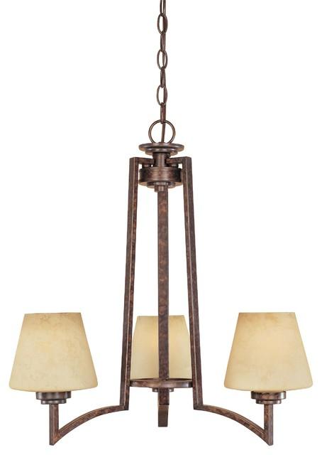 3 Light Chandelier modern-chandeliers