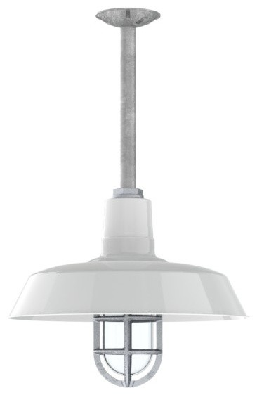 Original Stem Mount Pendant, 200-White modern-pendant-lighting