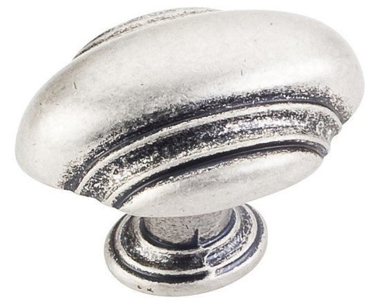 Jeffrey Alexander 613DP Cabinet Knob - Small Oblong - Amsden Series - Distressed - This distressed pewter finish cabinet knob with small oblong design is a part of the Amsden Series from Jeffrey Alexander. A perfect blend of craftmanship in traditional and contemporary design to complement any decor.