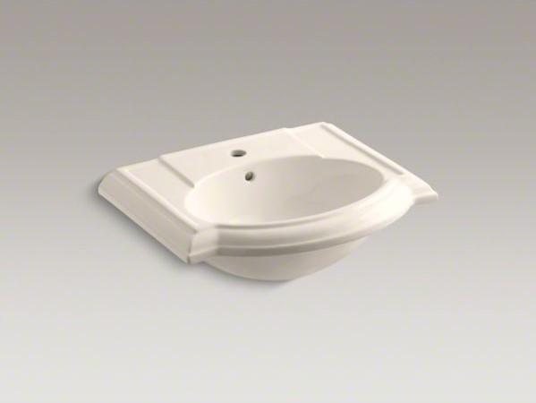 KOHLER Devonshire(R) bathroom sink with single faucet hole ...