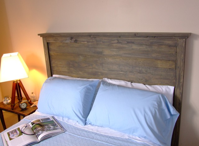 Weathered Distressed Headboard Eclectic Headboards