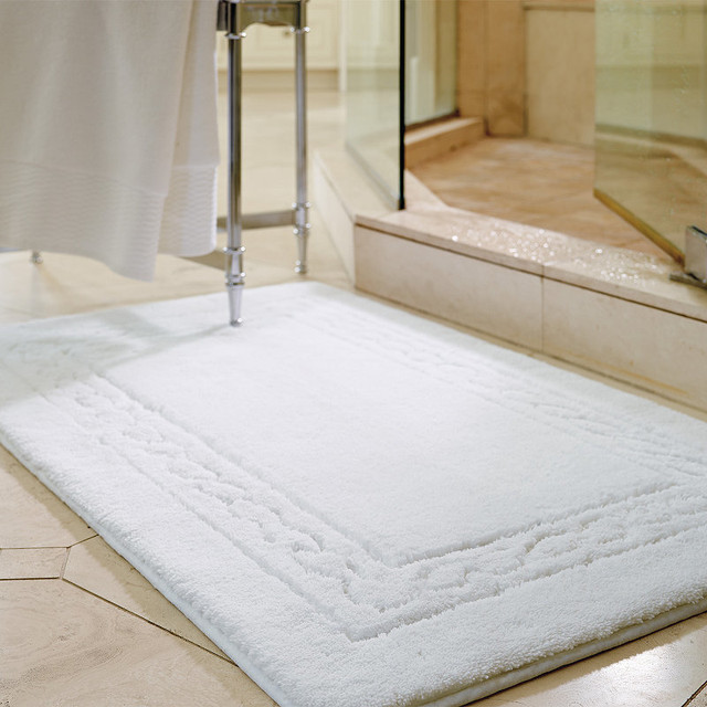 Egyptian Cotton Skid Resistant Rug Traditional Bath Mats By Frontgate