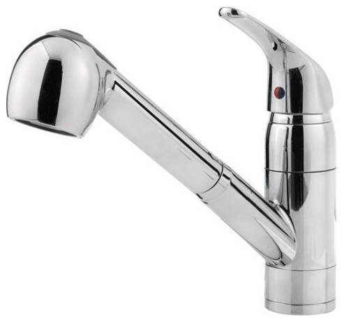 Price Pfister G133-10CC Pfirst Single Lever Handle Lead Free Kitchen Faucet with traditional-kitchen-faucets