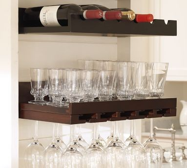 ... Entertaining Shelves - Display And Wall Shelves - by Pottery Barn