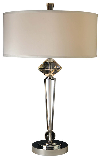 etoile crystal table lamp modern table lamps by inmod