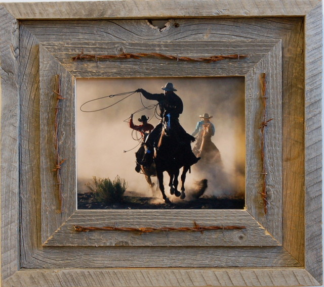 11x14 Laramie Rustic Barnwood Picture Frame Quality