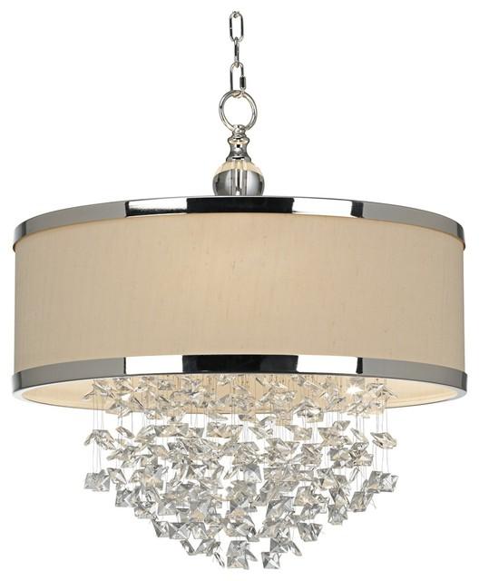 Lamp Plus Lighting: Uttermost Fascination 3-Light Chandelier
