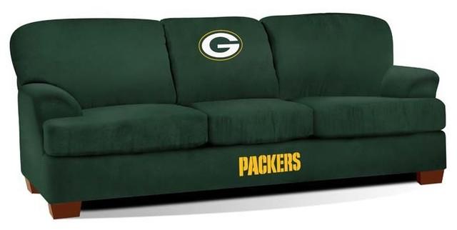 Green Bay Packers NFL First Team Sofa - Modern - Sofas ...