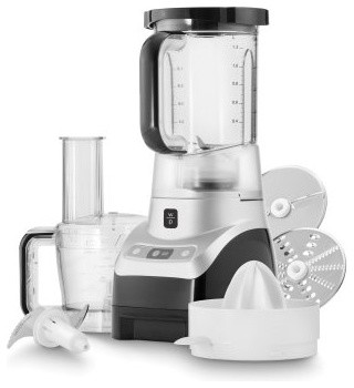 Wolfgang Puck WPBLFP40B Trio Blender Food Processor and Juicer modern-food-processors