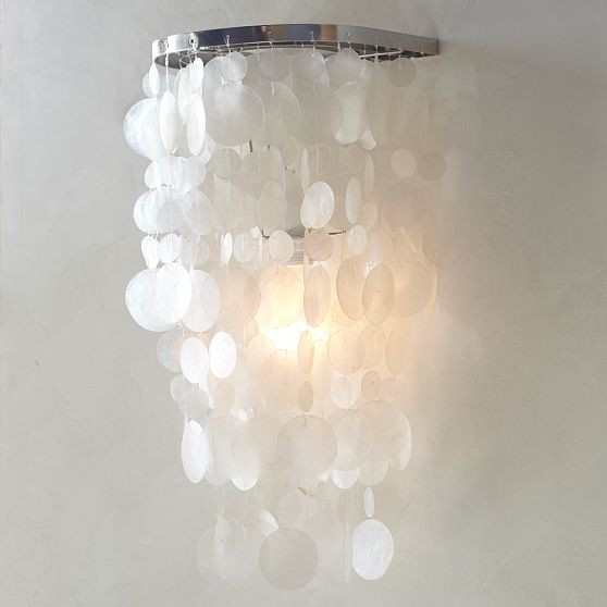 Wall Lamps West Elm : Capiz Sconce - Modern - Wall Sconces - by West Elm