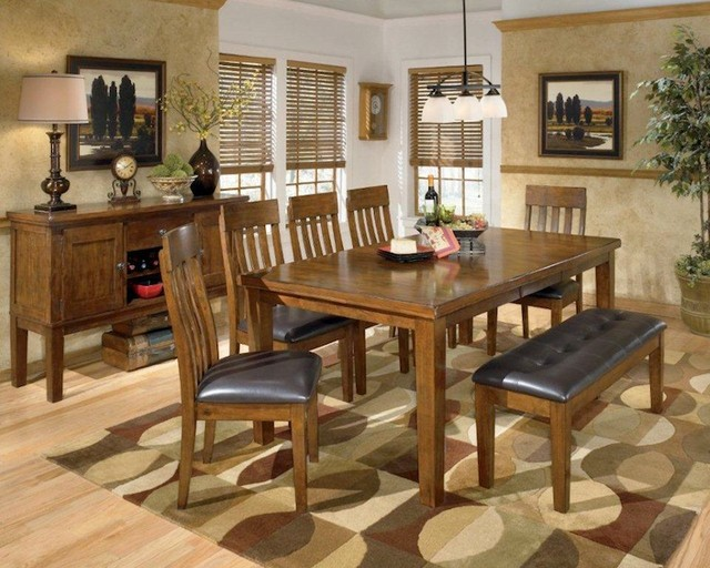 ashley ralene dining room collection contemporary