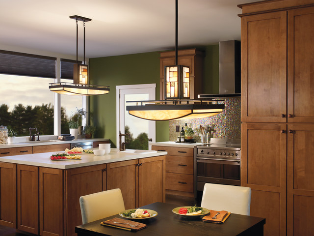 Contemporary Kitchen Lighting 640 x 480
