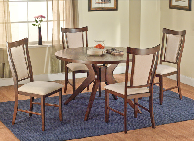 Calista 5-piece Dining Set contemporary-dining-tables