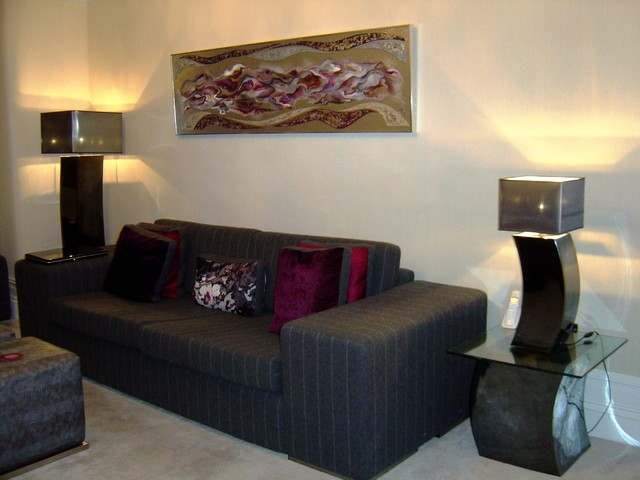 Period property in Manchester modern-living-room