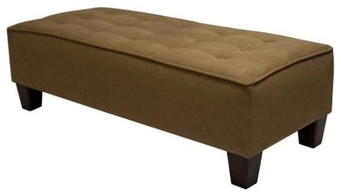 Contemporary bedroom benches by Bryan Tufted www.houzz.com