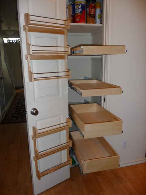 Pantry Pull Out Shelves - Pantry Cabinets - portland - by ShelfGenie ...