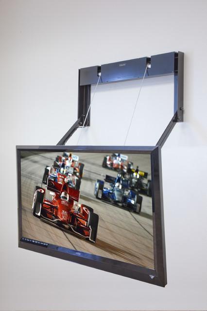 New model ComfortVu fireplace TV mount contemporary-brackets