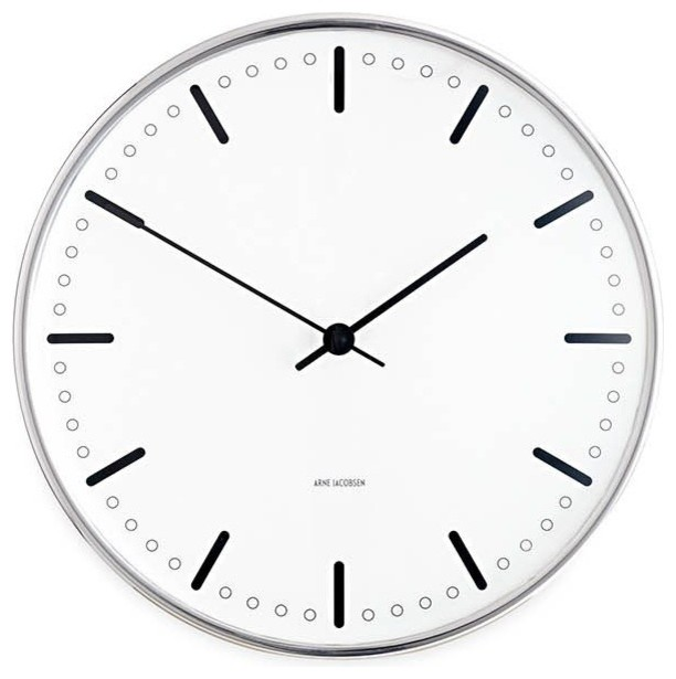 Jacobsen Modern Wall Clocks Other Metro By Design Within Reach
