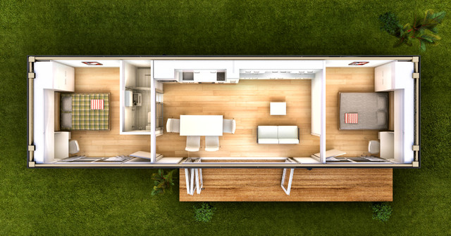 San Marino Prefab Modular Home Modern Brisbane By
