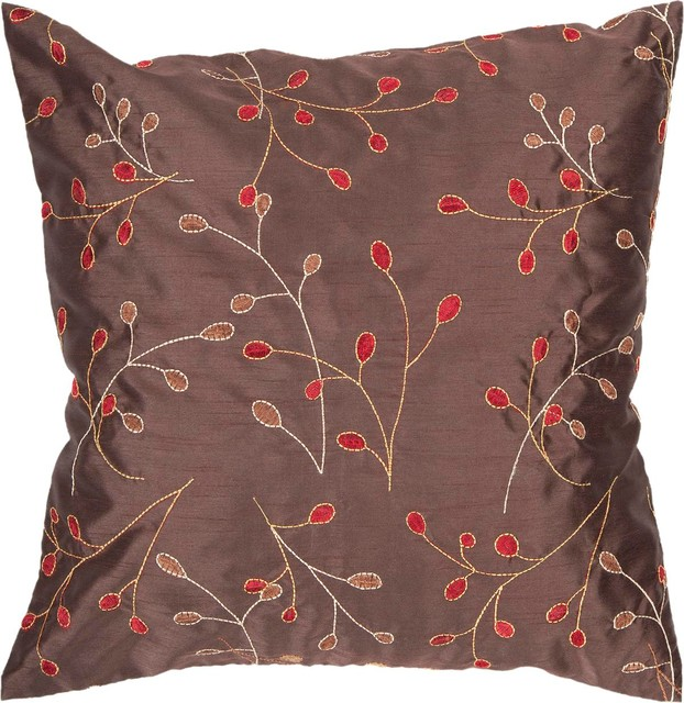 """Surya HH-094 18"""" x 18"""" Poly Fiber Pillow Kit contemporary-decorative-pillows"""