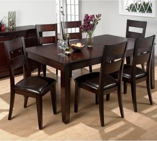 Modern Rustic Dining Table: Jofran Rustic Prairie 7 Piece Dining Set