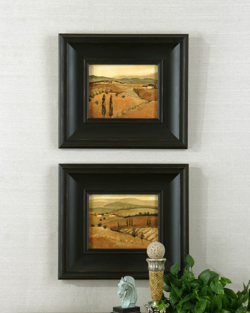 33408 GOLDEN TUSCANY AFTERNOON I, II S/2 by Uttermost modern-artwork