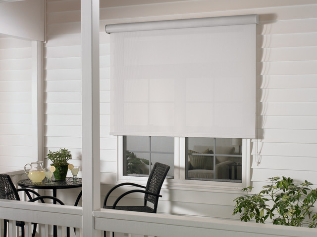 Exterior Roller Shades - Modern - Roller Shades - phoenix - by Grand Valley Window Coverings