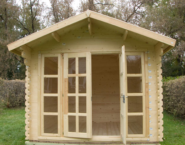 Brighton garden shed traditional chicago by for Traditional garden buildings