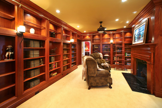 Clift Project traditional-home-office
