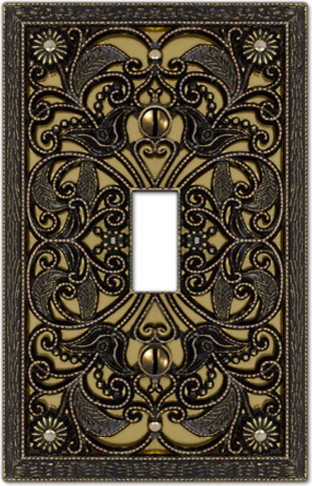 outlet covers wallplates plate covers on modern home decoration 7 mottled antique brass 3 toggle switch plate antique switch plates best decor ideas