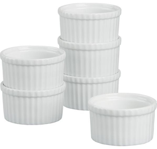 Set of 6 Ramekins traditional-ramekins-and-souffle-dishes