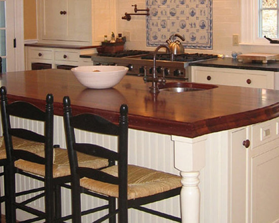 Mahogany Wood Kitchen Countertop and Bar with Sink.jpg -