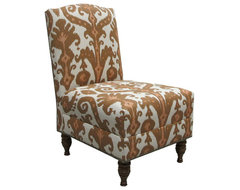 Nate Berkus Marrakesh Clove Slipper Chair contemporary-living-room-chairs