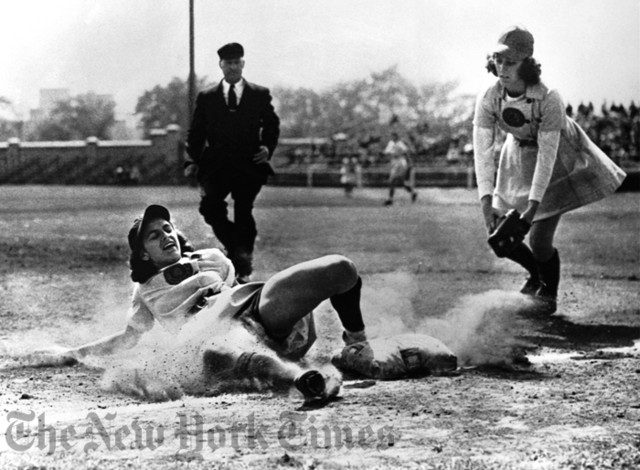 Womens Baseball League - 1947 Photograph eclectic artwork