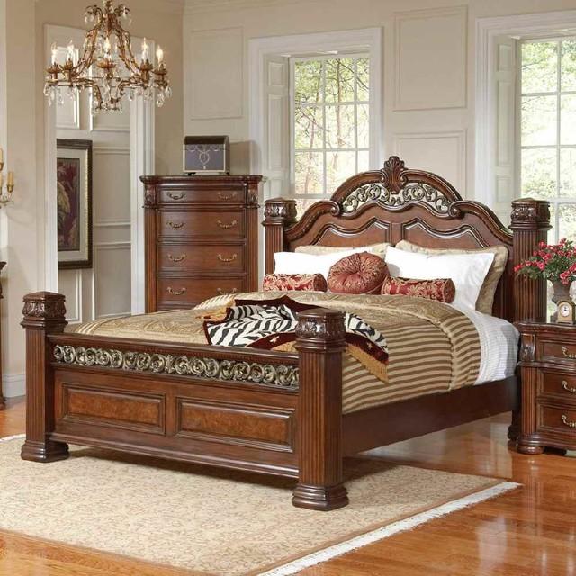DuBarry Queen Size Bed modern-beds
