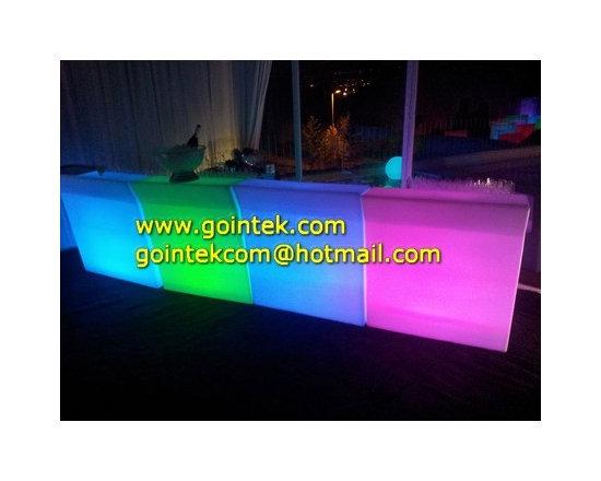 2013 New LED Plastic Bar Counter -